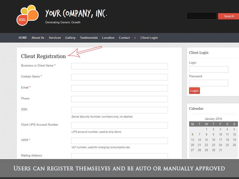 Wordpress Client Management Portal Blog - WP-Client
